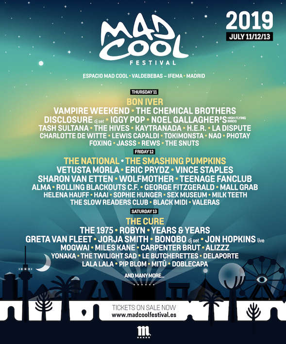 Mad Cool Festival - Line Up