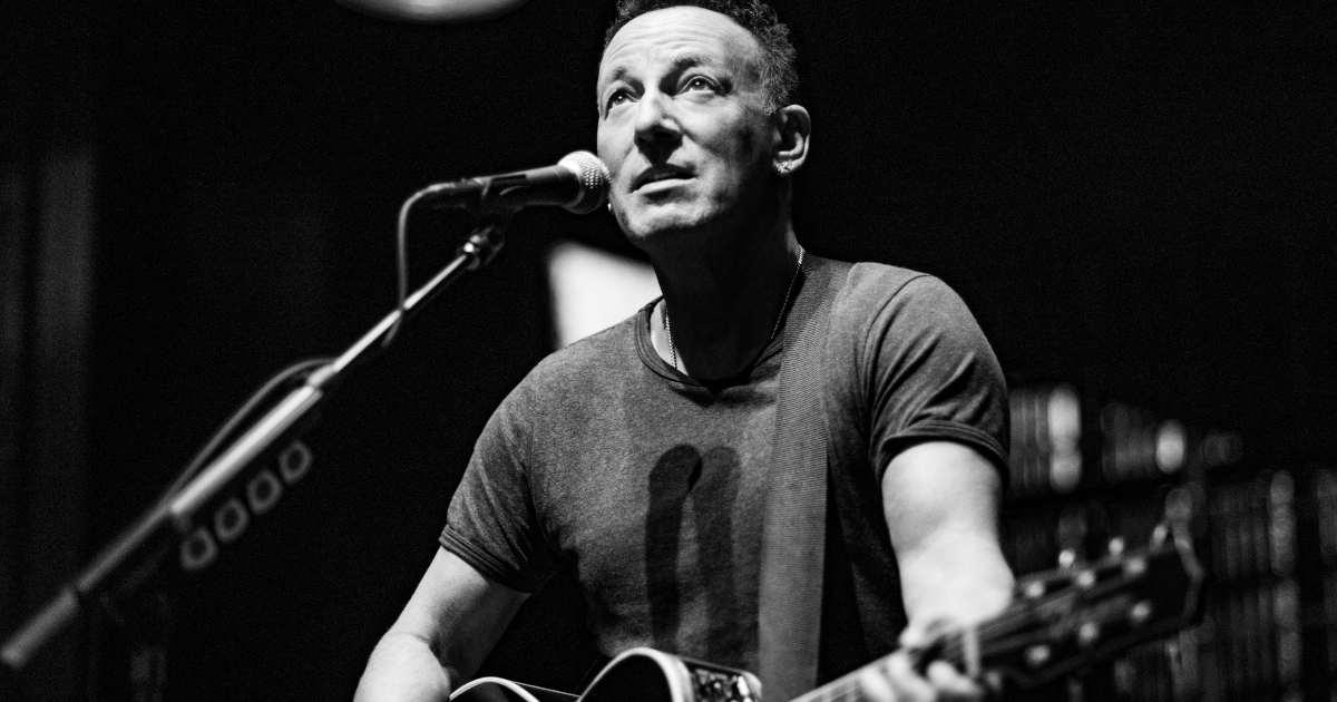 Bruce Springsteen - by RobDeMartin