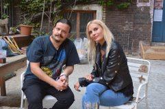 Roddy beim Interview mit Sabina (c) Fabio H. Cesario
